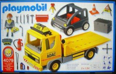 Playmobil 4079 - ADAC Truck Assistance - Back