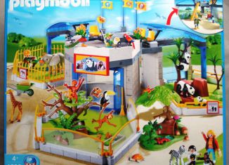 Playmobil - 4093 - Baby Animal Zoo
