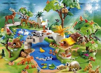 Playmobil - 4095 - Animal Paradise