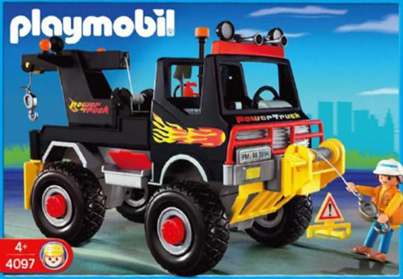 Tow N Go >> Playmobil Set: 4097 - Power Truck - Klickypedia