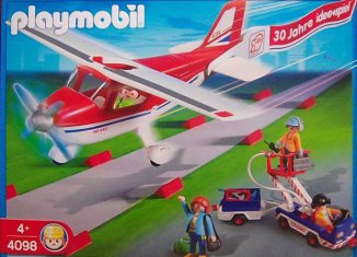 "Playmobil - 4098 - Airplane 30 Years ""idee+spiel"""