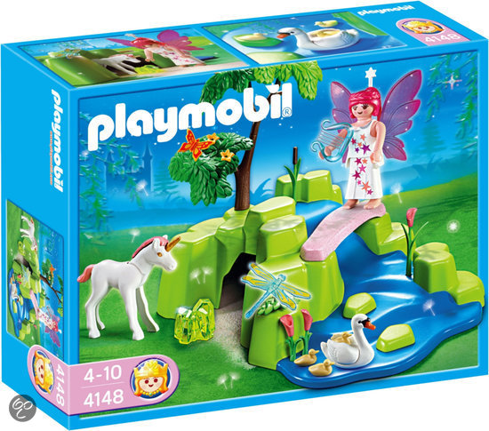Playmobil 4148 - Fairy Garden Compact Set - Box