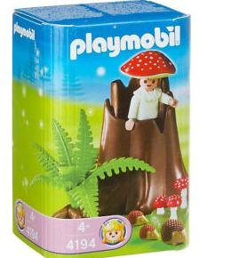 Playmobil 4194 - Tree Stump with Fairy - Box