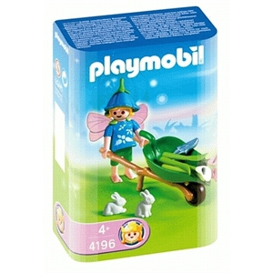 Playmobil 4196 - Flower Wheelbarrow - Box