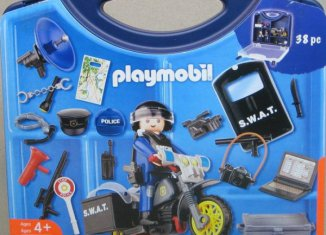 Playmobil - 4218-usa - Sortierbox Polizei