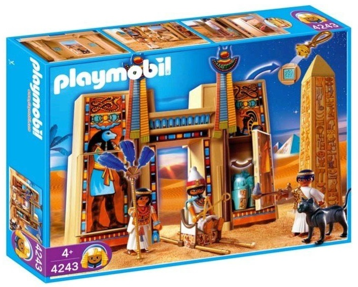 Playmobil 4243 - Pharaoh's Temple - Box