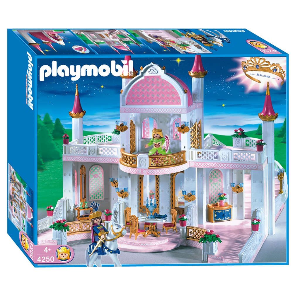 playmobil set 4250 magic castle with princess crown