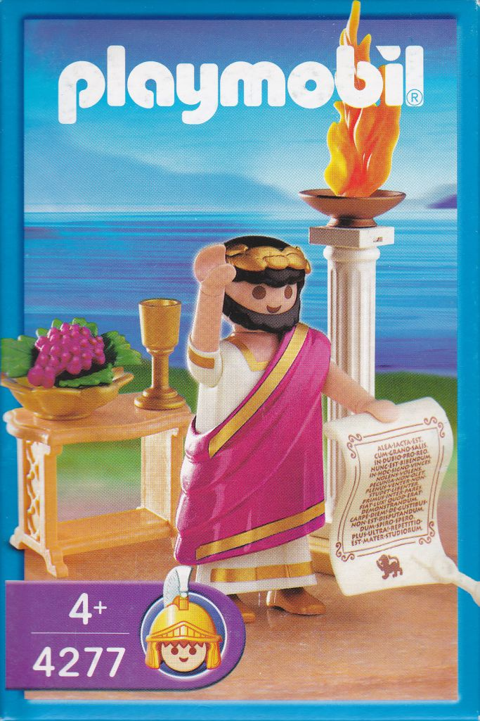 Playmobil 4277 - Roman emperor - Box