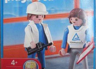 Playmobil - 4904-ger - Industrial auditors