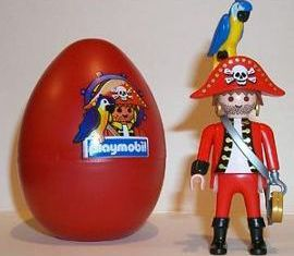 Playmobil - 4911s3 - pirate red egg