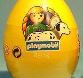 Playmobil - 4916v4-esp-usa - Yellow Egg Boy with Dalmatian
