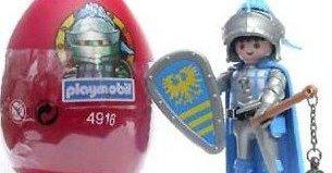 Playmobil - 4916v2-usa - Red Egg Knight