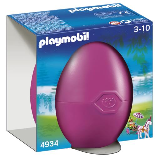 Playmobil 4934 - Pink Egg Fairy with Unicorn Cart - Box