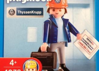 Playmobil - 4976 - ThyssenKrupp Engineer