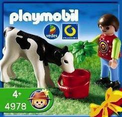 Playmobil - 4978-ger - Boy with Calf