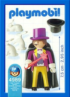 Playmobil 4989-ger - Wizard - Back