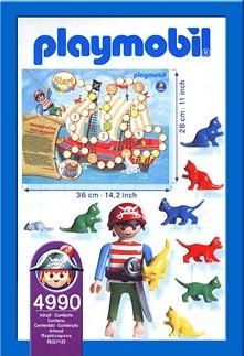 Playmobil 4990-ger - pirate game - Back