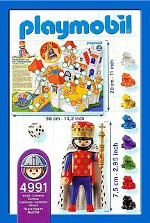 Playmobil 4991-ger - King and Frogs - Back