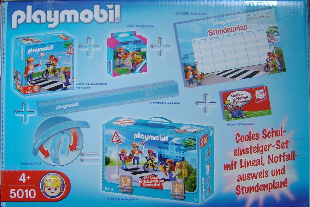 Playmobil 5010 - Schulanfangsbox - Back