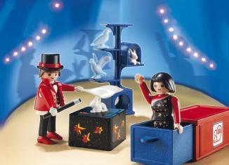 Playmobil - 5023-ger - magicien du cirque