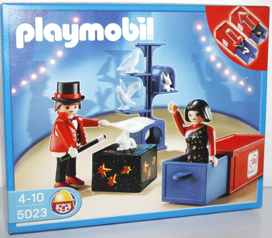 Playmobil 5023-ger - Circus Magician Act - Box