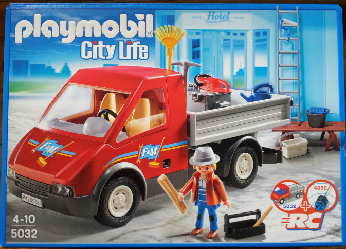 Playmobil 5032 - City Truck - Box