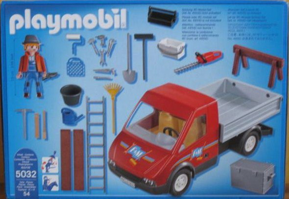Playmobil 5032 - City Truck - Back