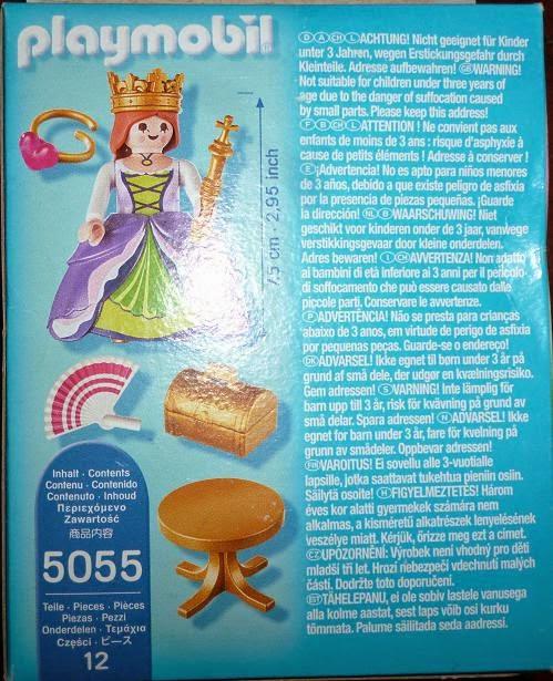 Playmobil 5055-gre - Elpida princess - Back