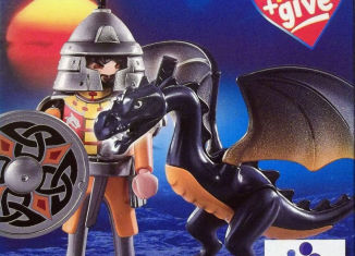Playmobil - 5065-gre - Asian warrior with dragon
