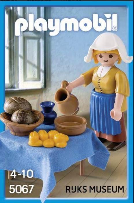 Playmobil 5067-net - The Milkmaid from Rijksmuseum - Box
