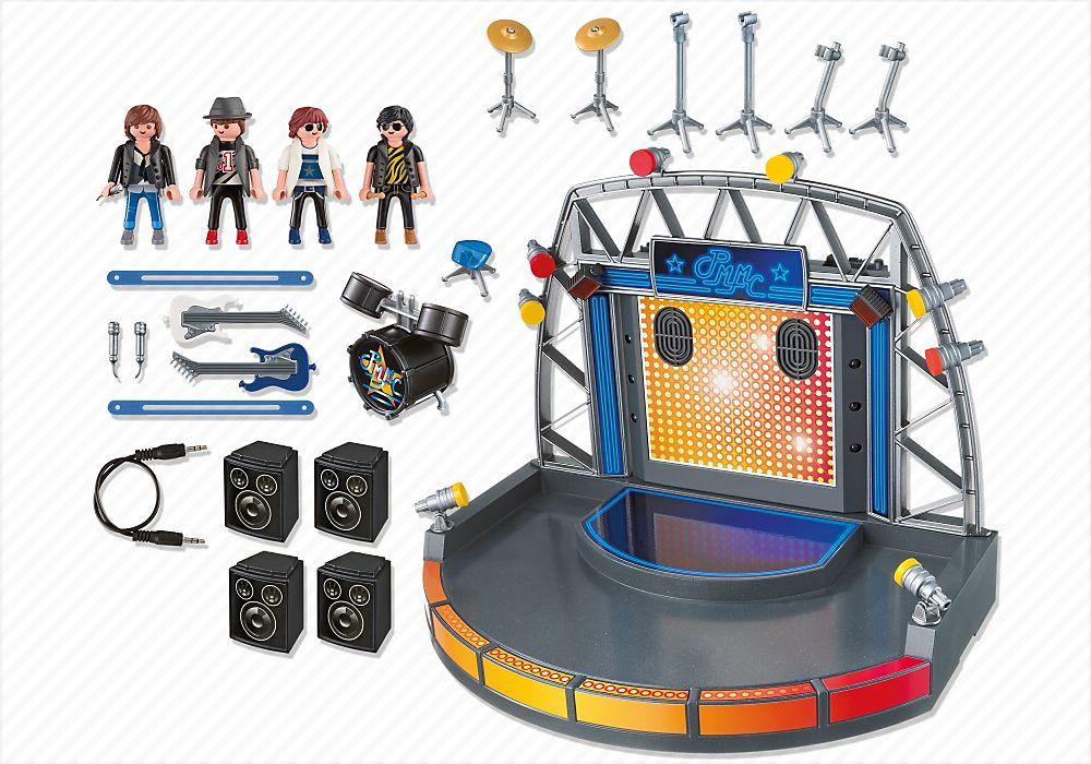 Playmobil 5602-usa - Stage - Back