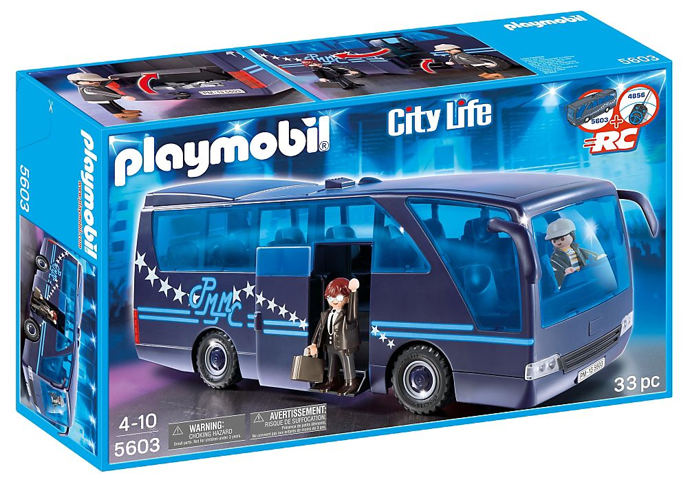 Playmobil 5603-usa - Tour Bus - Box