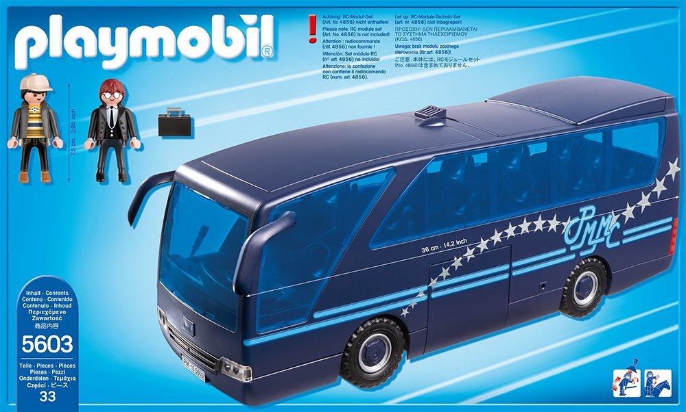 Playmobil 5603-usa - Tour Bus - Back