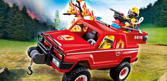 Playmobil - 5616-usa - Fire terrain truck
