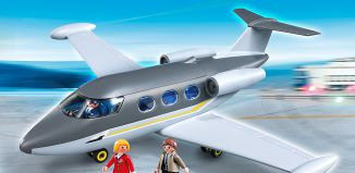 Playmobil - 5619-usa - Avion Private