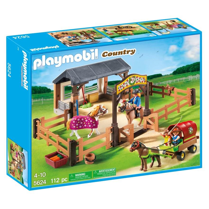 Playmobil 5624 - Set Ponys Club - Box