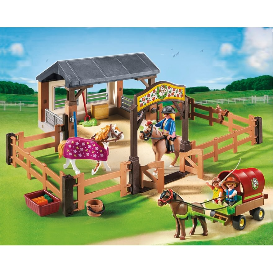 Playmobil set 5624 set ponys club klickypedia - Pferde playmobil ...