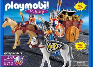 Playmobil - 5712-usa - Viking Raiders