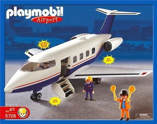 Playmobil 5726 - Private Jet - Box