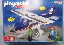 Playmobil - 5745-usa - Avion de sport