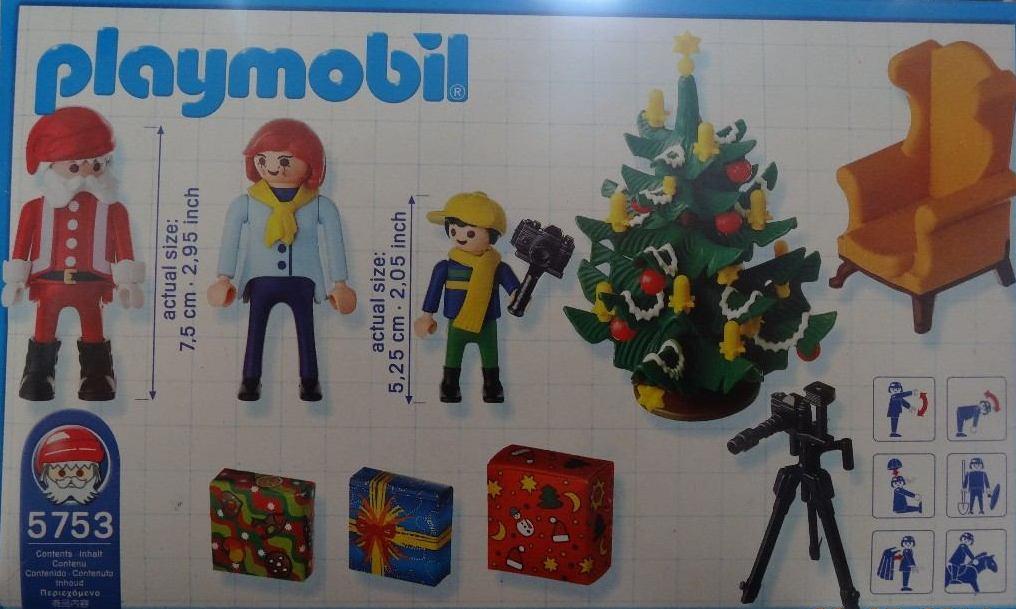 Playmobil 5753-usa - Photo with Santa Claus - Back
