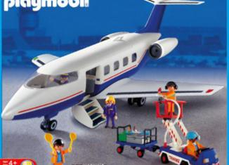 Playmobil - 5776 - Jet and Luggage Trailer