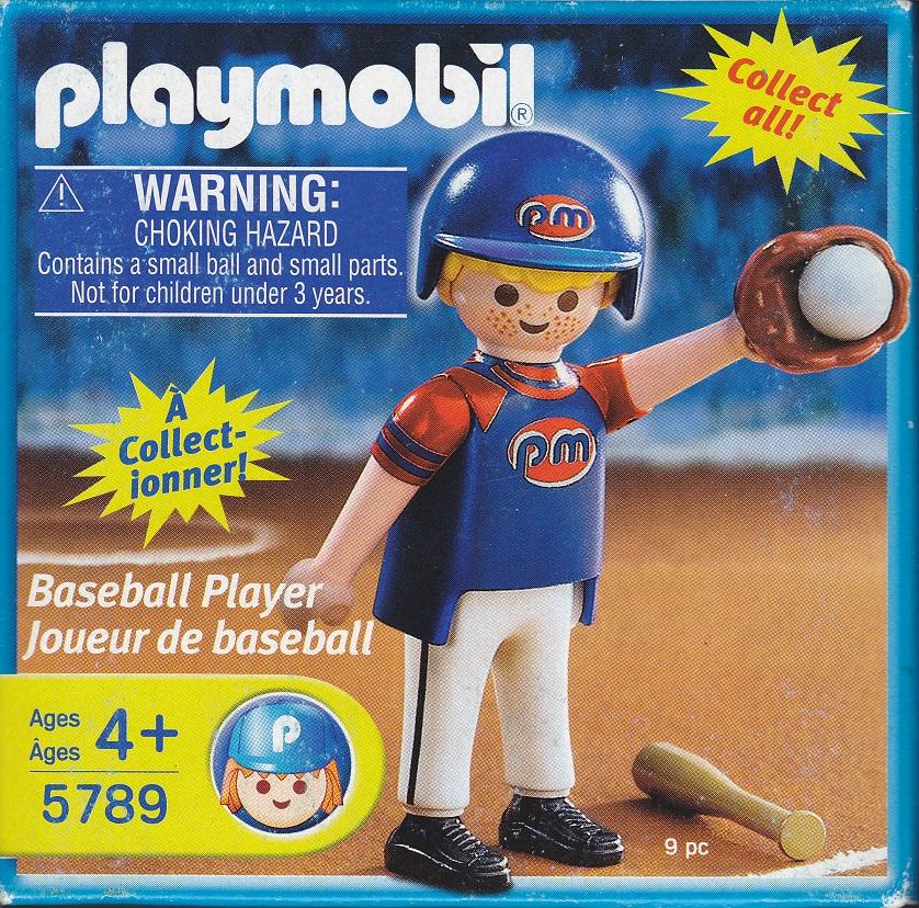 Playmobil 5789-usa - Baseball Player - Box