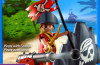 Playmobil - 5807-usa - pirate with cannon