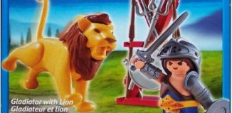 Playmobil - 5813-usa - Gladiator with Lion