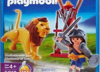 Playmobil - 5813-usa - Gladiator with Lion