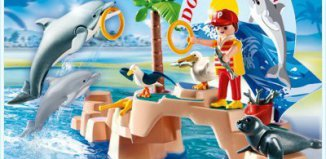 Playmobil - 5835-usa - Sea Life Show