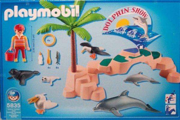 Playmobil 5835-usa - Sea Life Show - Back