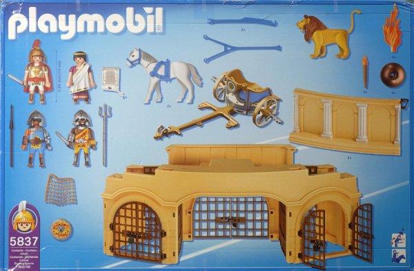Playmobil 5837-usa - Roman Arena - Back