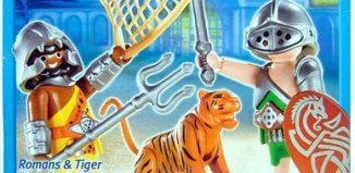 Playmobil - 5838-usa - Romans and Tiger